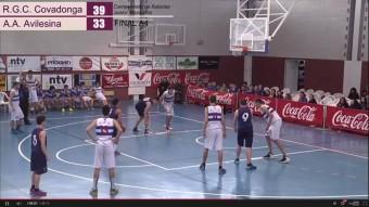 Streaming campeonato de Asturias de Baloncesto en Navia