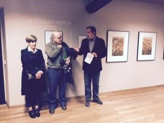 Inauguración de la exposición La Ciudad Herida