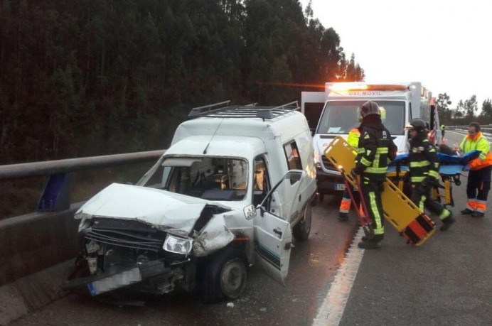 Accidente en Villaviciosa