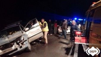 Accidente de tráfico en Llanes