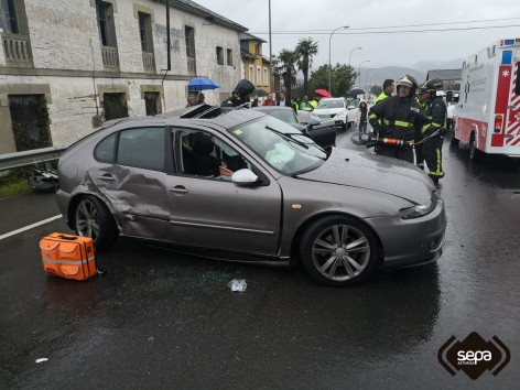 Accidente de tráfico en Valdés