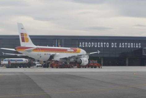 El Consorcio de Transportes de Asturias modifica los horarios del servicio de autobuses al aeropuerto a partir del jueves