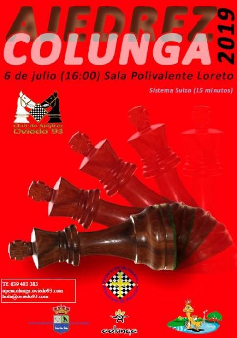 XIX Torneo de Ajedrez Villa de Colunga