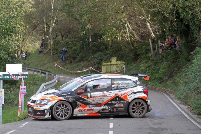 Alberto Ordóñez y Nacho García, ganadores del 4º Rally de La Felguera