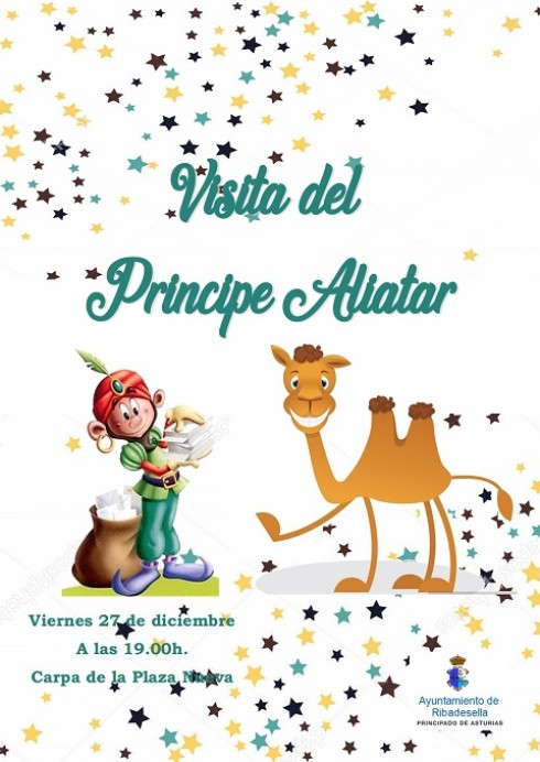 Visita del Príncipe Aliatar a Ribadesella
