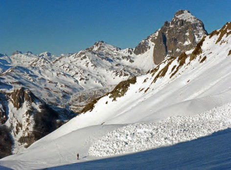 Aviso de aludes en los Picos de Europa