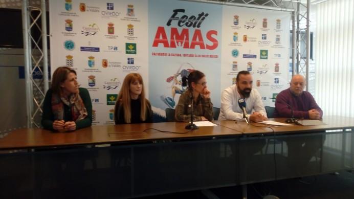 Presentación del festival AMAS.