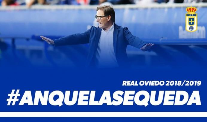 Anquela renueva con el Oviedo