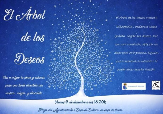 El Árbol de los deseos en Ribadesella