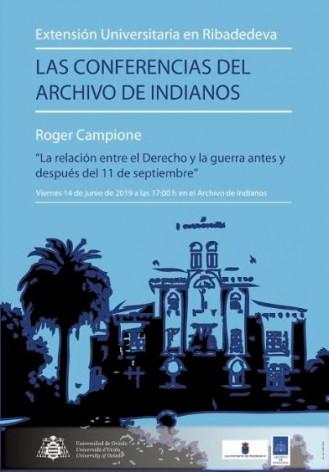 Vuelven Las Conferencias del Archivo de Indianos con una actividad dedicada al derecho internacional
