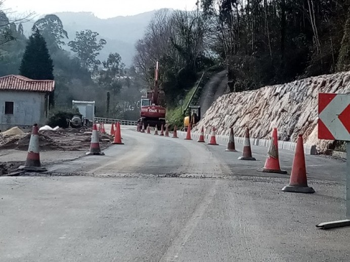 Abierta al tráfico la carretera de Colunga a Lastres