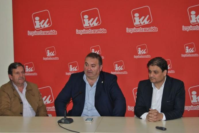 Argüelles se reúne con miembros de IU en la Comarca de la Sidra