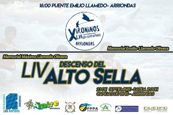 LIV Descenso Alto Sella/LVI Xironinos