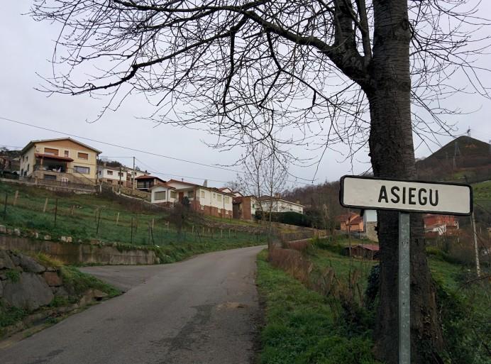 Asiegu, Premio al Pueblo Ejemplar de Asturias