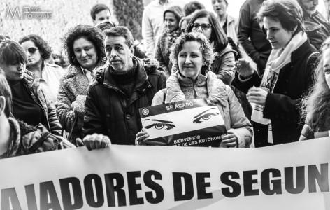 Varios centenares de autónomos asturianos reivindican sus justas demandas