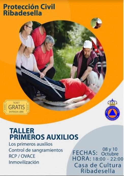 Taller de primeros auxilios en Ribadesella