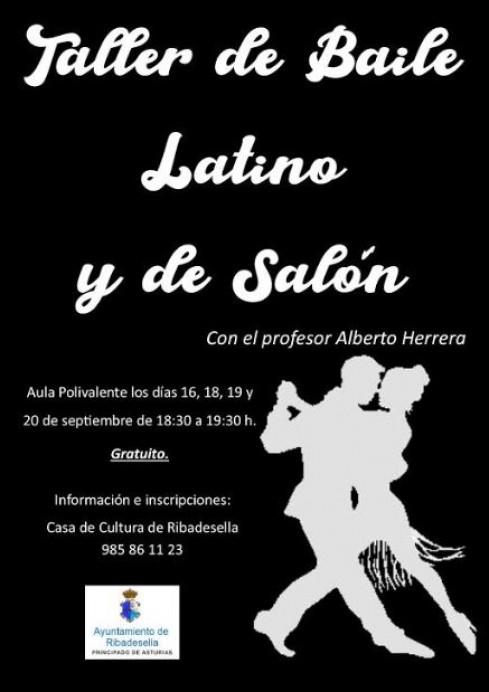 Taller de bailes latinos en Ribadesella