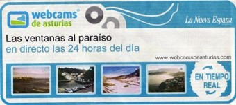 Nueva campaña promocional en LNE, de nuestra red Webcams de Asturias