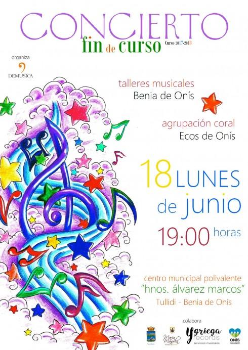 Concierto Fin de Curso de los Talleres Musicales de Benia de Onís