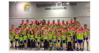 Presentación del Team Bike Cabranes para la temporada 2016