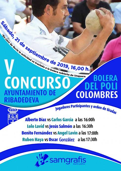 V Concurso Ayuntamiento de Ribadedeva de Bolo Palma.
