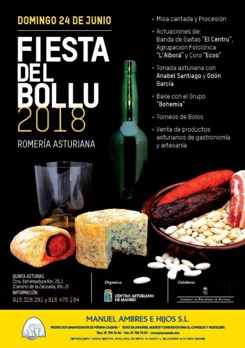 Fiesta del Bollu en el Centro Asturiano de Madrid