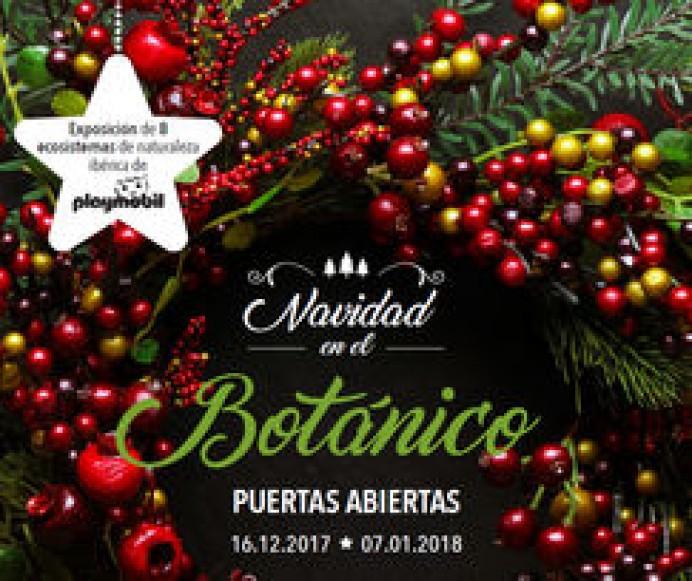 ¡El Jardín Botánico se viste de Navidad!