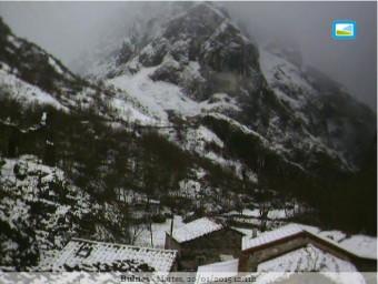 Sigue el temporal en Webcams de Asturias