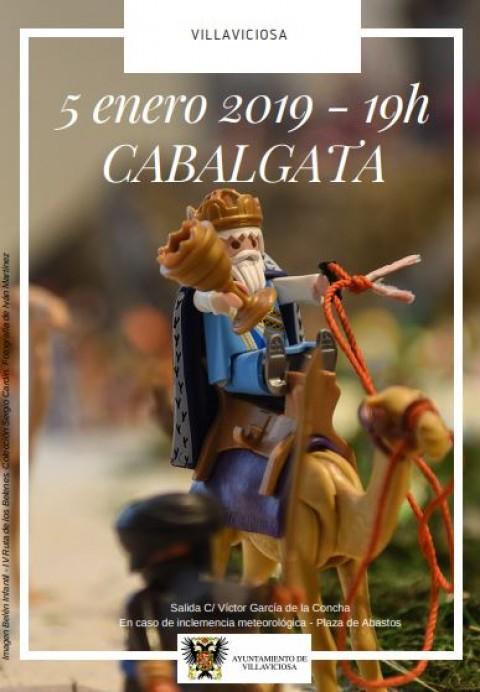 Cabalgata de Reyes en Villaviciosa
