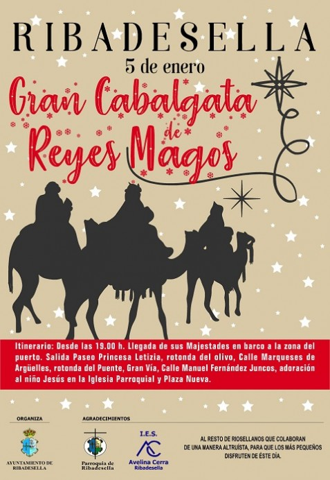 Cabalgata de Reyes Ribadesella