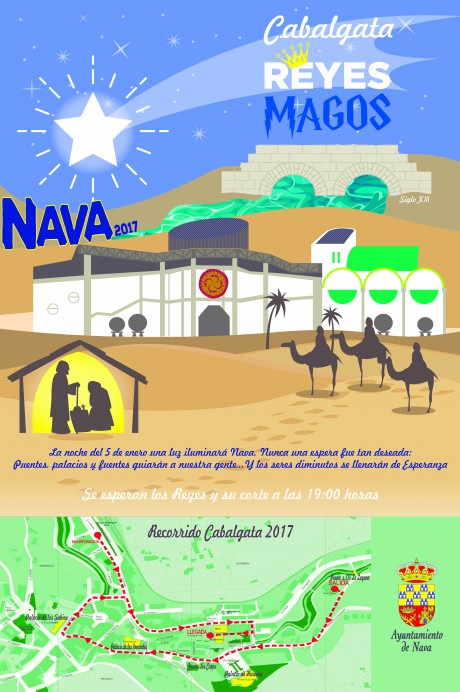 NAVA: Cabalgata de Reyes Magos