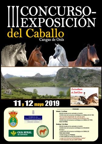 III Concurso y exposición del caballo de Cangas de Onís
