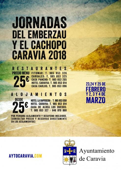 Jornadas del Emberzau y el Cachopo 2018 en Caravia