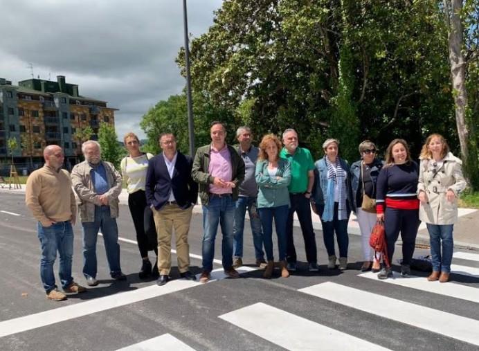 Apertura de calles en Villaviciosa