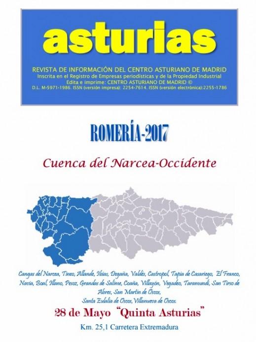 Centro Asturiano de Madrid:Romería Peña Cuenca del Narcea-Occidente