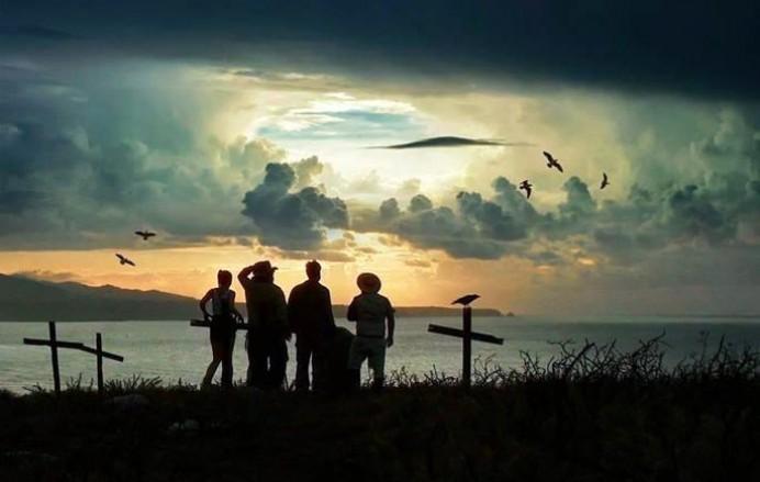 Proyección Camping Movie, el tesoro del pirata Cambaral