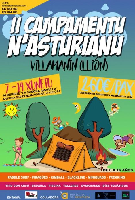 Iniciativa pol Asturianu collabora na organización d'un campamentu col asturianu como protagonista