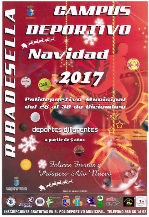 Campus Deportivo Navideño Ribadesella 2017