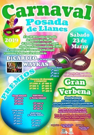 Carnaval de Posada , 1.116 inscritos y 10.000 euros premios