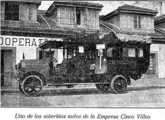 AUTOMOVILES CINCO VILLAS
