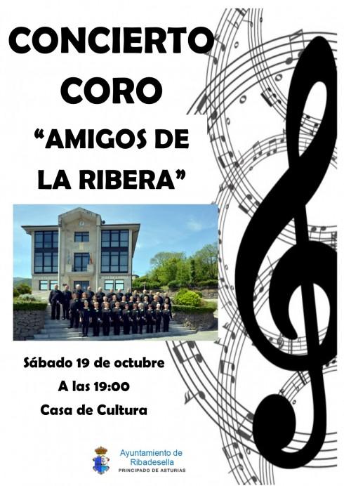 Concierto del coro Amigos de la Ribera en Ribadesella
