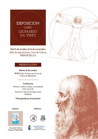 Exposición sobre la obra de Leonardo Da Vinci