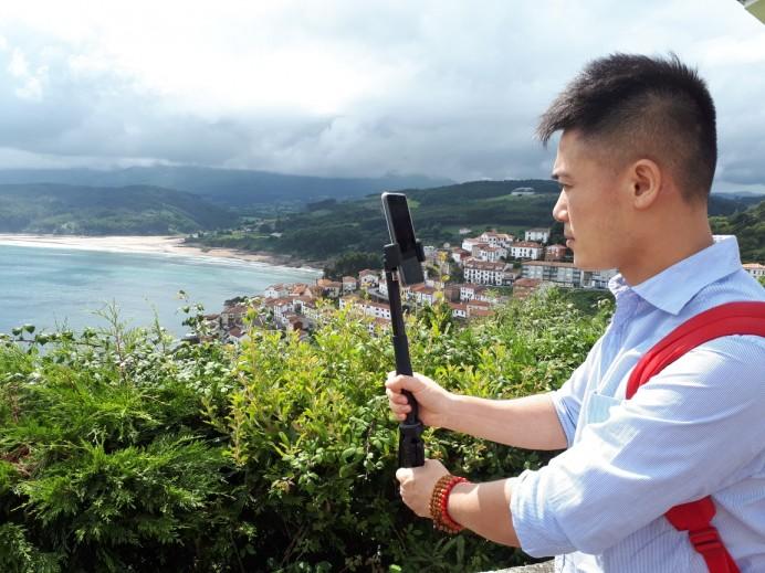 Visita del periodista chino Ziliang Zhan