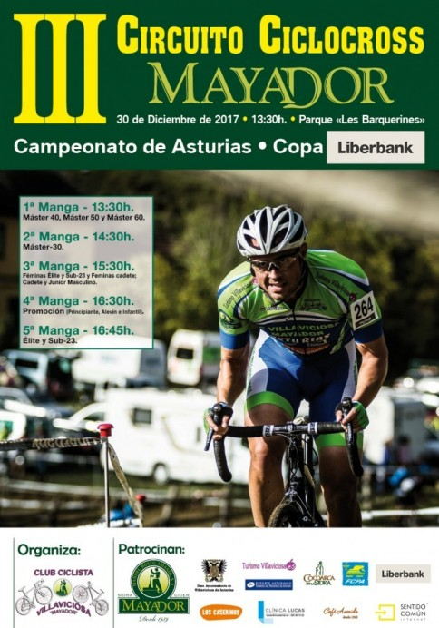 III Circuito de Ciclocross Mayador Campeonato de Asturias