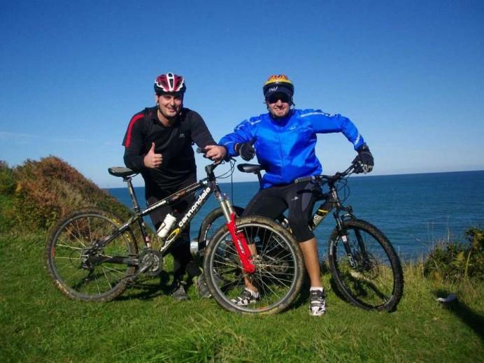 Costa Jurásica del Sueve en Bicicleta desde Colunga.