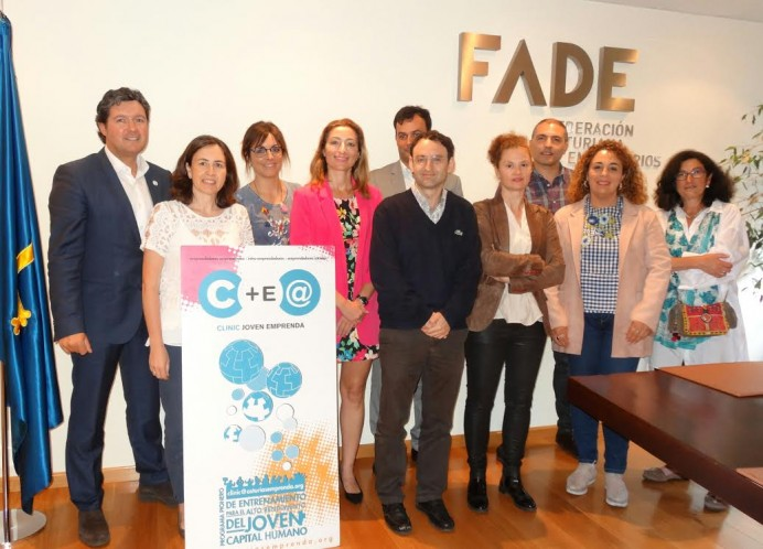 Jóvenes de Villaviciosa y de la Comarca de la Sidra participarán por primera vez en el Programa de Alto Rendimiento Emprendedor CLINIC- JOVEN EMPRENDA 2017