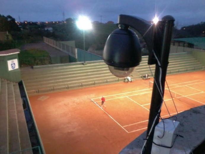 Nueva webcam desde el club de Tenís de Avilés