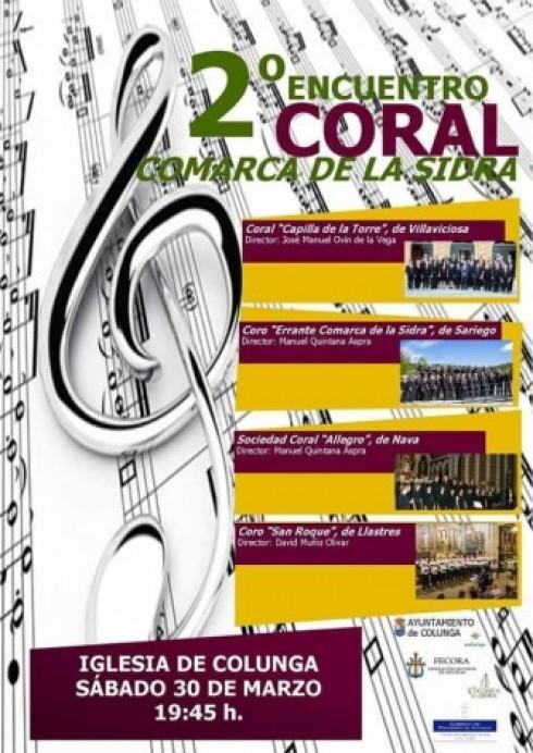 2º Encuentro Coral Comarca de la Sidra