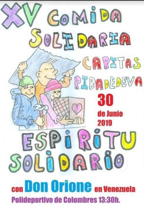 XV Comida Solidaria de Ribadedeva