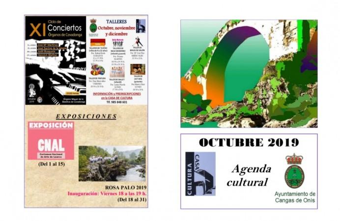 Agenda Cultural  Octubre 2019